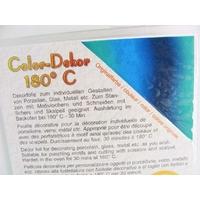 Color-Dekor 180 degrés motif Dégradé Bleu Vert pour décoration de céramique verre
