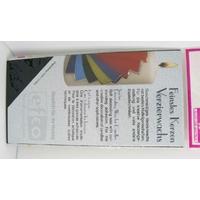 Bande de cire d'ornementation 10x20cm couleur Noir par 2 pcs