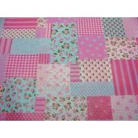 Papier décoratif à coller Artepatch 1 feuille 40x50cm Patchwork Sweet Artemio