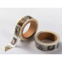 Ruban Masking Tape Timbres Monuments 15mm x 10m