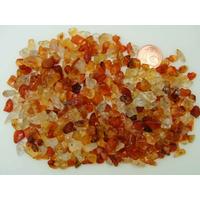 Perles Pierre Chips Transparent à marron par 340 pcs environ