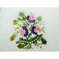 Modèle pour quilling Bouquets de Fleurs 21x19cm mod06