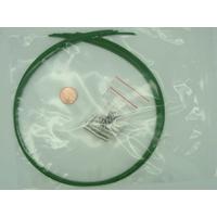 KIT FIL CABLE + fermoirs 1mm Vert par 10 pièces