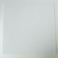 Feutrine épaisse 3mm plaque 29x29cm  Feutre BLANC