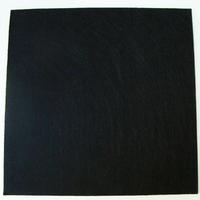 Feutrine épaisse 3mm plaque 29x29cm Feutre NOIR