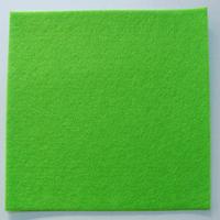 Feutrine épaisse 3mm plaque 29x29cm Feutre VERT CLAIR