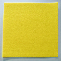 Feutrine épaisse 3mm plaque 29x29cm Feutre JAUNE