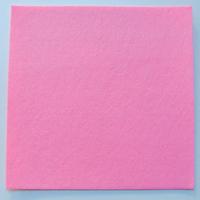 Feutrine épaisse 3mm plaque 29x29cm Feutre ROSE