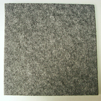 Feutrine épaisse 3mm plaque 29x29cm Feutre GRIS CHINE