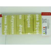 Ruban large 26mm Scrapbooking Artemio Joyeuses Paques x 3m