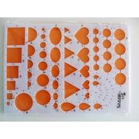 Gabarit plaque 21x15cm pour mise en forme quilling par 1 pc