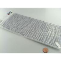 Peel Off motifs mini Alphabet Lettres et chiffres planche 23x10cm Stickers Artemio