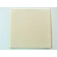 Feutrine épaisse 3mm plaque 29x29cm Feutre ECRU