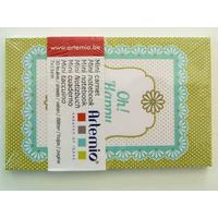 Mini carnet Happiness Artemio bloc 11x7cm de 30 feuilles