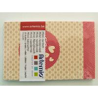 Mini carnet Love Amour Artemio bloc 11x7cm de 30 feuilles