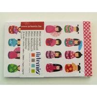 Mini carnet Femmes Japon Artemio bloc 11x7cm de 30 feuilles