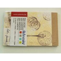 Mini carnet Paris France Artemio bloc 11x7cm de 30 feuilles