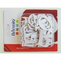 Alphabet Lettres A-Z majuscules 40mm stickers carton 40mm par 60pcs