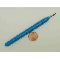 Outils stylet 10,5cm pointe fente pour Quilling par 2 pcs