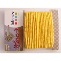Tricotin fil tricoté 5mm cordon Jaune par 5 mètres Artemio