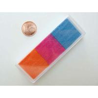 Encreur 76x28cm Encre 3 couleurs BLEU ROSE ORANGE