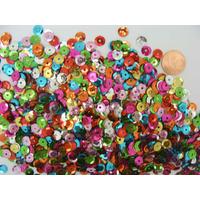 Sequins 6-7mm mix couleurs par 20 grammes