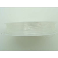 Fil Stretch 1mm TRANSPARENT par bobine 4m