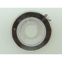 Fil Stretch 0,8mm Marron Foncé élastique multifibre par Bobine 10m env