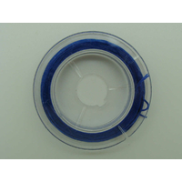 Fil Stretch 0,8mm Bleu Foncé élastique multifibre par Bobine 10m env