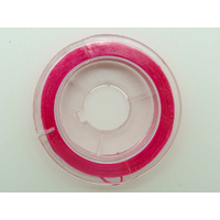 Fil Stretch 0,8mm Rose Foncé élastique multifibre par Bobine 10m env