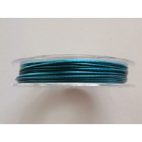 FIL CABLE 0,60mm BLEU par 1 bobine de 10m