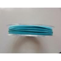 FIL CABLE 0,60mm BLEU CIEL par 1 bobine de 10m