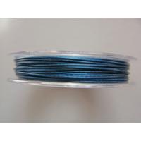 FIL CABLE 0,60mm BLEU FONCE par 1 bobine de 10m