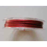FIL CABLE 0,60mm FUCHSIA par 1 bobine de 10m