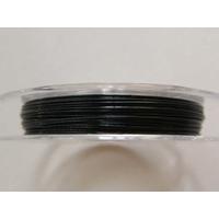 FIL CABLE 0,38mm NOIR par 1 bobine/10m
