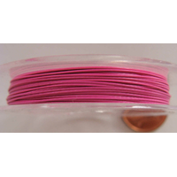 FIL CABLE 0,38mm ROSE par 1 bobine/10m