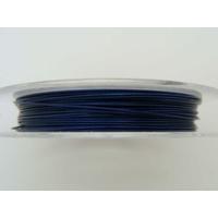FIL CABLE 0,38mm Bleu Nuit par 1 bobine/10m