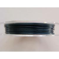 FIL CABLE 0,45mm ARDOISE FONCE par 1 bobine/10m