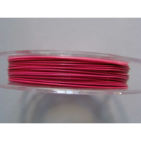 FIL CABLE 0,45mm ROSE par 1 bobine/10m