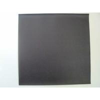 Simili cuir fin 30x30cm pour reliure cartonnage Noir Anthracite