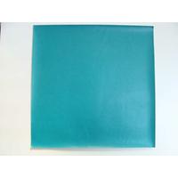 Simili cuir fin 30x30cm pour reliure cartonnage Bleu Turquoise