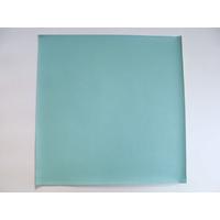 Simili cuir fin 30x30cm pour reliure cartonnage Vert Eau