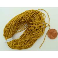 Fil Tressé 0,8mm Marron doré par 10m