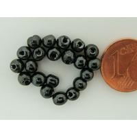 Perles rondes Pierre HEMATITE magnétique 4.2x3.9mm par 50 pcs