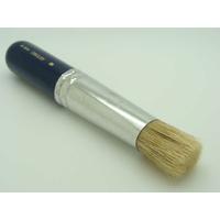Brosse ronde 19mm pour pochoir poils en soie de porc Artemio