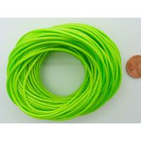 Fil polyester ciré Vert Clair 1,5mm en écheveau de 10 mètres