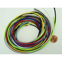 Fil polyester ciré Mix couleurs 1,5mm en écheveau de 10 mètres