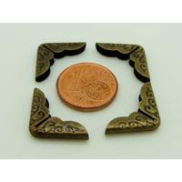 Angle 14mm métal couleur Bronze Déco par 20 pcs