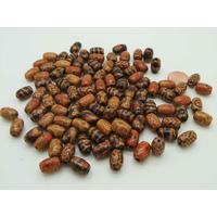 Perles Bois Olives MIX motifs 12x8mm par 100 pcs