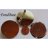 Support BROCHE Rond Tamis 1 pc